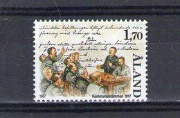 Aland. Autonomie De L'île - Aland