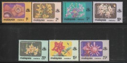 MALAYSIA - MELAKA - N°312/8 ** (1979) FLEURS - Malaysia (1964-...)