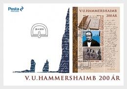 Faeroër / Faroes - Postfris / MNH - FDC Sheet V.U. Hammershaimb 2019 - Faeroër