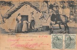 Cartolina Uruguay Escenas Campestres 1903 - Cartoline