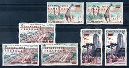 CAMEROUN - YT PA N° 49 à 51a - Neufs ** - MNH - Cote: 355,00 € - Cameroun (1960-...)