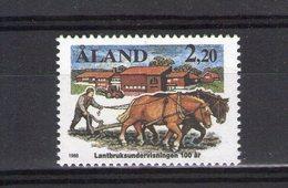 Aland. Centenaire De L'enseignement Agricole - Aland