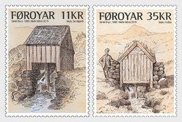 Faeroër / Faroes - Postfris / MNH - Complete Set Oude Watermolens 2019 - Faeroër