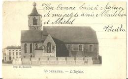 Anderlues  L'Eglise ( 1 ère ) - Anderlues