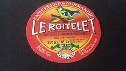 Etiquette De Fromage  Le Roitelet - Fromage