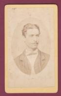 090519 - PHOTO CDV ANCIENNE BEAUMONT AFRIQUE ILES DU CAP VERT 1875 Homme En Médaillon - Cape Verde