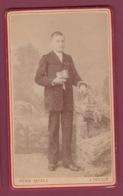 090519 - PHOTO CDV ANCIENNE -  AFRIQUE ILE MAURICE HENRI FATRAS Photographe à DEVILLE Et PORT LOUIS Communiant Chapelet - Maurice