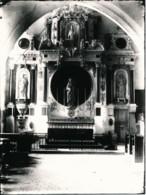 Photographie Ancienne Retable De La Chapelle Latérale NOIRMOUTIER (85) Photographe Jules ROBUCHON - Photos