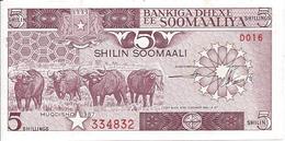 5 Shilin 1987 (recto) - Somalie