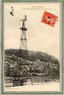 CPA - ALES-ALAIS-TAMARIS (30) - Aspect Du Pylone Du Cable Aérien Des Forges En 1910 - Alès
