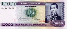 1984 10000 Pesos Bolivianos - Bolivia