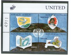 PALAU 1995 Onu  YVERT N°836/39  NEUF MNH** - Palau