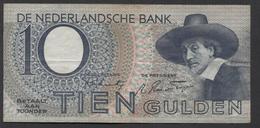 Netherlands 10 Gulden 4-1-1943 -22-4-1944 , No 1 BN 094317 - 11-11-1943, - See The 2 Scans For Condition.(Originalscan ) - [2] 1815-… : Koninkrijk Der Verenigde Nederlanden