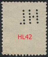 Perforé Semeuse 137 HL 42 Indice 4 - Francia