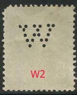 Perforé Semeuse 137 W 2 Indice 4 - Francia