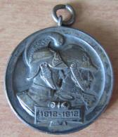 Médaille 100 Ans Pompiers / Jahrhundert-Feier Der Städt. Feuerwehr Metz 6, 7, Und 8 Juli 1912 - TBE - Allemagne