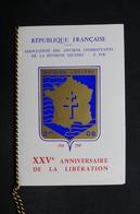 FRANCE - Document Philatélique Du XXV E Anniversaire De La Libération , Division Leclerc , 1969 - L 29126 - Storia Postale