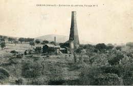 GABIAN  =  Extraction Du Pétrole ,forage ...  707 - Autres Communes