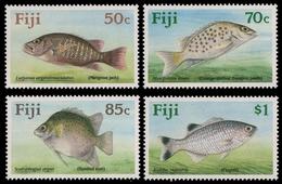 Fidschi 1990 - Mi-Nr. 614-617 ** - MNH - Fische / Fish - Fiji (1970-...)
