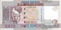 5000 Francs Guinéens 2012 - Guinée