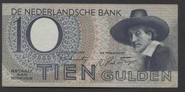 Netherlands 10 Gulden 4-1-1943 -22-4-1944 , No 1 BL 062005 - 09-11-1943, - See The 2 Scans For Condition.(Originalscan ) - [2] 1815-… : Kingdom Of The Netherlands