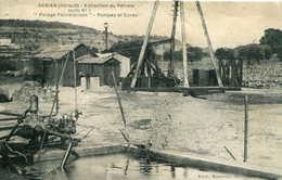 GABIAN  =  Extraction Du Pétrole ,forage Pechelbroon   Pompes Et Cuves..  708 - Autres Communes