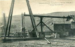GABIAN  =  Extraction Du Pétrole , Puits N°1  Forage Pechelbroon    709 - France