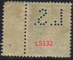 Perforé Semeuse 137 LS 132 Indice 3 - France