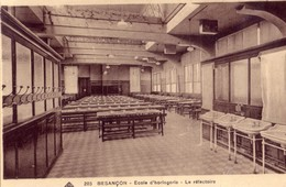 Besançon - Ecole D'Horlogerie. Le Réfectoire. Edition C.A.P Strasbourg. N° 203. Circulée. Bon état. - Besancon