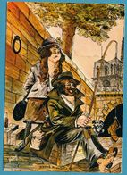 Illustrateur DUGUE Bernard - Sous Le Ciel De Paris - La Pêche Miraculeuse - Altre Illustrazioni