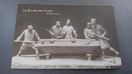 Le Billard Des Alliés - Guerre 1914-18