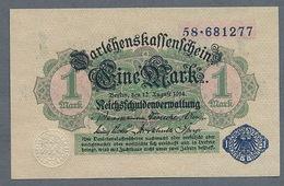 Pick 52 Ro 51d DEU-187 1 Mark 1914 UNC ! - [ 2] 1871-1918 : Impero Tedesco