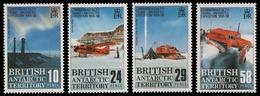 BAT / Brit. Antarktis 1988 - Mi-Nr. 148-151 ** - MNH - Transarktis Expedition - Britisches Antarktis-Territorium  (BAT)