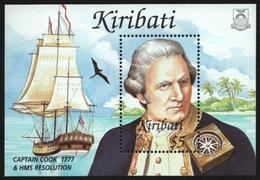 Kiribati 2002 - Mi-Nr. Block 45 ** - MNH - Schiffe / Ships - Captain Cook - Kiribati (1979-...)