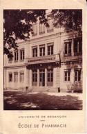 Besançon - Ecole De Pharmacie. Laboratoire De Chimie Et De Toxicologie. Non Circulée. TB état. 2 Scan - Besancon