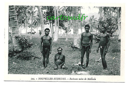 NOUVELLES HEBRIDES - BUSHMEN NAINS DE MALLICOLA TBE - Vanuatu