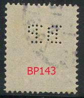 Perforé Semeuse 137 BP 143 Indice 1 - Francia