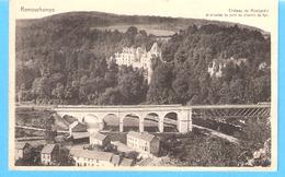 Remouchamps (Sougné-Aywaille)-écrite En 1948-Arcades Du Pont Du Chemin De Fer Sur L'Amblève Et Château De Montjardin - Aywaille