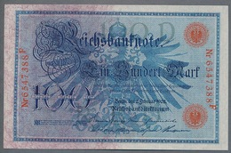 Pick 33 Ro 33b DEU-31b 100 Mark 1908 UNC ! - 1871-1918: Deutsches Kaiserreich