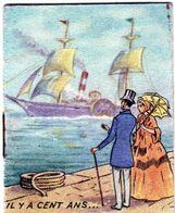Ancien Petit Calendrier Publicitaire 1954 L'art Floral R.Bonnet à Petit-quevilly - Calendarios