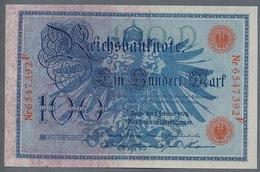 Pick 33 Ro 33b DEU-31b  100 Mark 1908 UNC ! - 100 Mark