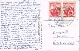 32659. Postal ST. ANTON Am ARLBERG (Tirol) Austria 1949, Wintersportpltaz - 1945-60 Cartas