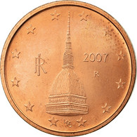 Italie, 2 Euro Cent, 2007, SUP, Copper Plated Steel, KM:211 - Italie