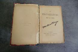 Les Travailleurs De La Mer De Victor Hugo - édition Jules Rouff  En 5 Livres En 1- En état Moyen - - French Authors