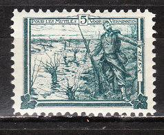 E4**  Timbre émis Au Profit Des Prisonniers De Nunspeet - Soldat Sur L'Yser - MNH** - LOOK!!!! - Commemorative Labels