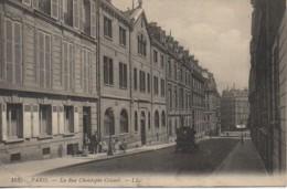 75 PARIS 8e La Rue Christophe Colomb - Arrondissement: 08