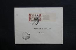 NOUVELLE CALÉDONIE - Affranchissement Plaisant De Nouméa Sur Enveloppe En 1950 - L 29134 - Neukaledonien