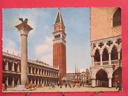 Italie - Venezia - Piazzetta S. Marco E Campanile - 1957 - Très Bon état - Scans Recto-verso - Venezia (Venice)