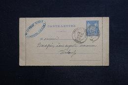 FRANCE - Carte Lettre De Château Thierry Pour Triloup En 1883 - L 29147 - Postal Stamped Stationery