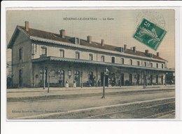 SEVERAC-le-CHATEAU : La Gare - Tres Bon Etat - France